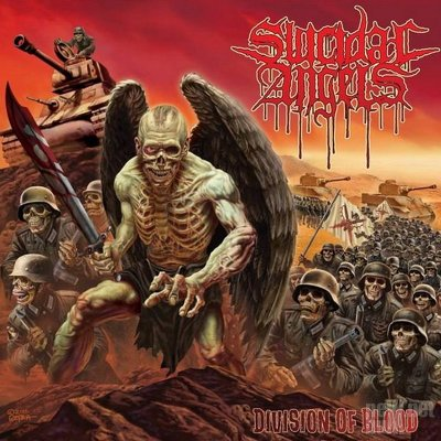 SUICIDAL ANGELS -Division of blood CD+DVD
