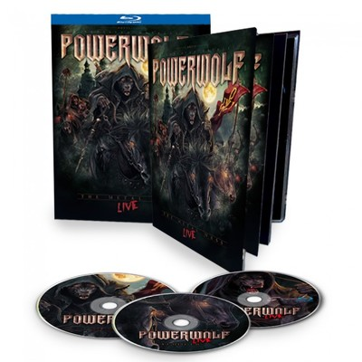 POWERWOLF - The metal mass live 2xBLURAY+CD
