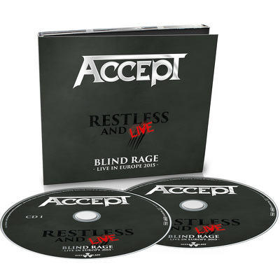 ACCEPT - Restless and live 2CD