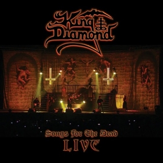 KING DIAMOND - Songs for the dead live CD+DVD