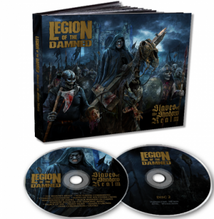 LEGION OF THE DAMNED - Slaves of the shadow realm CD+DVD