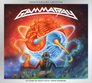 GAMMA RAY - Insanity and genius 2cd reedice