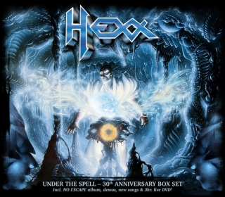 HEXX - Under the spell 2CD+DVD BOX