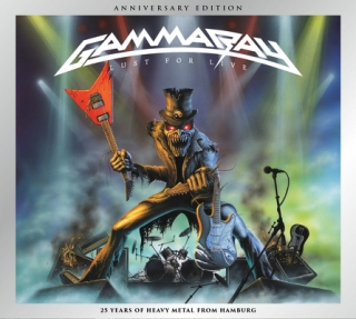GAMMA RAY - Lust for live reedice