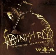 MINISTRY - Enjoy the quiet - Live at Wacken 2012 DVD+2CD