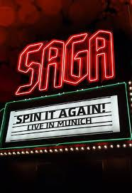 SAGA - Spin it again - Live in Munich DVD
